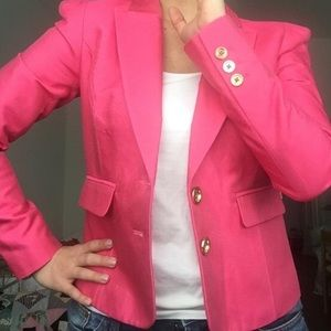 Juicy Couture Bright Pink Blazer